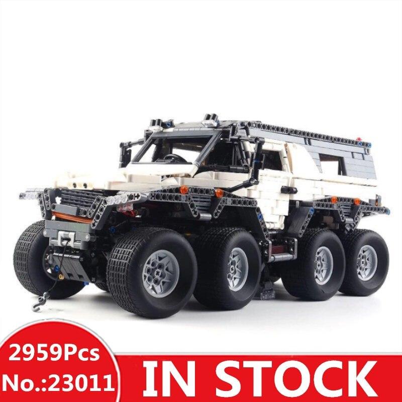 H&HXY 23011 2959Pcs Technic Series Off-road vehicle Model Building Kits Block Bricks Compatible Toys  boy brithday gifts lepin