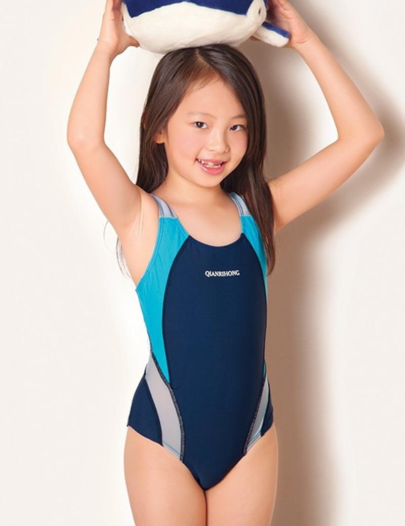 e1c886c412e 2019 Sports Kids Swimmer girls bathing suit infantil swimwear for girls  girls bathers children one pieces