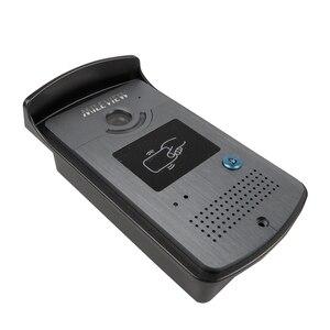 """Image 5 - Бесплатная доставка Новый 9 """"цветной экран видео домофон комплект + 1 белый монитор + открытый RFID дверной Звонок камера + магнитный замок"""
