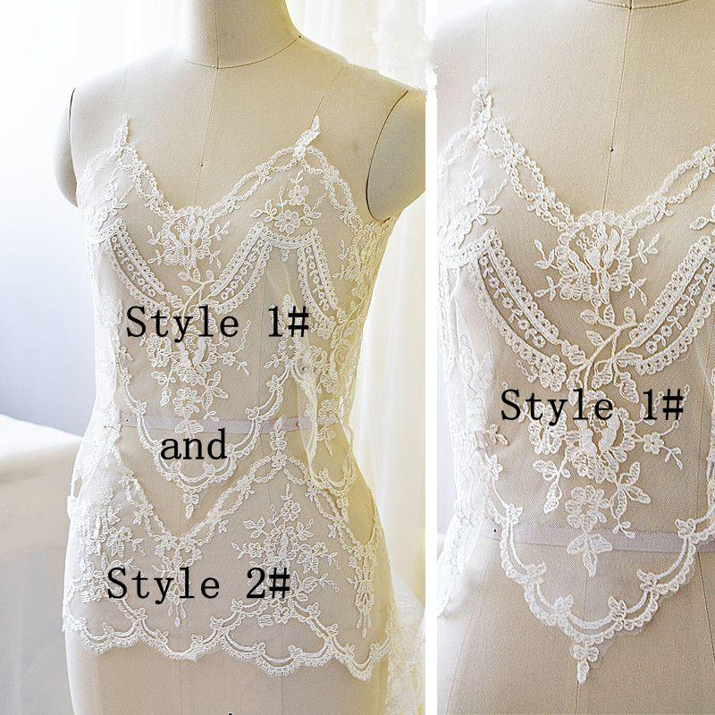 Extra Wide Car Lace Lace Trim Nunta rochie de accesorii Accesorii DIY - Arte, meșteșuguri și cusut