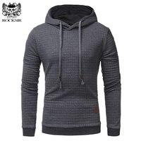 Rocksir 2017 Winter Plus Size Men Hooded Sweatshirt Casual Warm Slim Jacket Hoodies Male Fashion Long