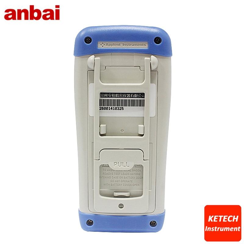 AT825 numérique Portable haute précision LCR mètre 10 KHz L C R Q D Z Theta ESR testeur TFT LCD écran tactile USB AC100-240V - 3
