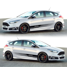 TAIYAO car styling sport car sticker For Ford 2013-2018 focus  car accessories and decals auto sticker