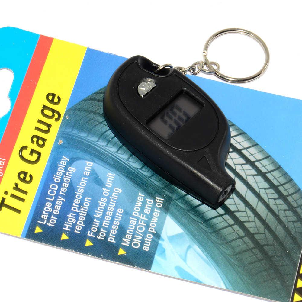 タイヤ圧力計 2-150 PSI バックライト高精度デジタルタイヤ空気圧監視車のタイヤ空気圧ゲージ