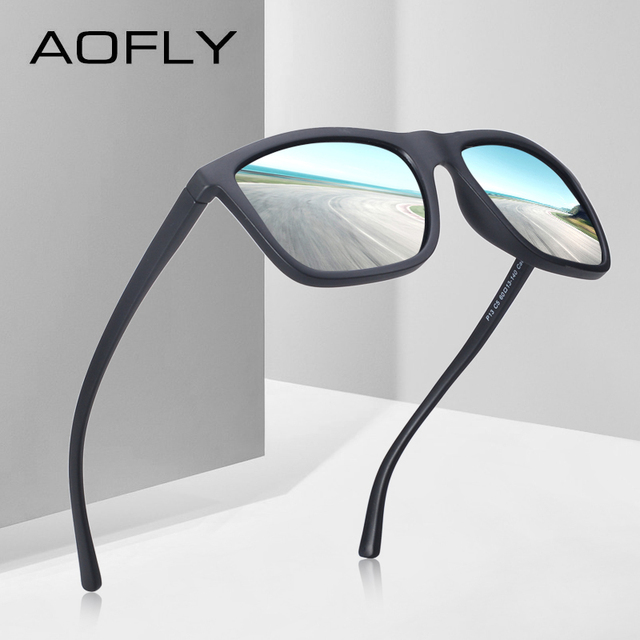 AOFLY BRAND DESIGN Polarized Sunglasses Men Male Cool Sunglasses for Driving TR90 Goggles Eyewear Gafas De Sol UV400 AF8088