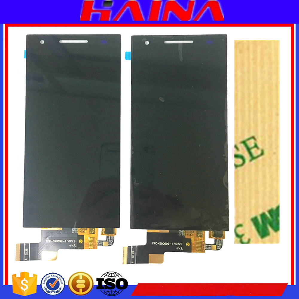 100% wiko téléphone S396 lcd Pour Philips Xenium S396 Écran lcd avec Écran Tactile Digitizer Assemblée Verre