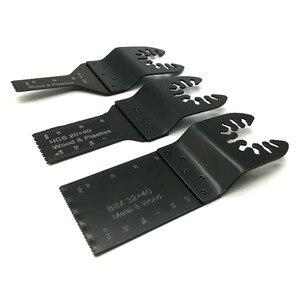 Image 2 - 3 adet çok amaçlı testere bıçağı salınan bıçak çok aracı dairesel testere bıçakları yenileme için Fein Multimaster ahşap kesme kiti