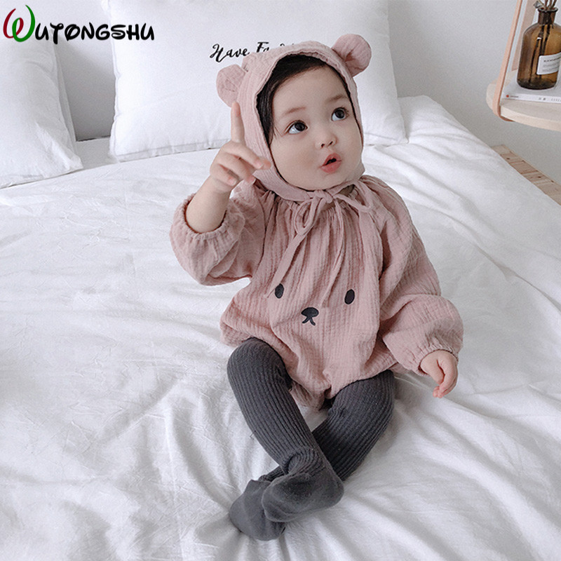 Baby   Rompers   Winter Baby Boy girls Clothes Cotton Newborn Clothes Infant Jumpsuits New Born Warm Clothing Ropa Bebe One Piece