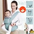 2017 Nuevo Diseño Porta Bebé Hipseat Heces Bebé Transpirable de Algodón Mochilas Mochila Abrigo de la Honda Del Portador de Bebé Delantero 0-36 M 36Kg