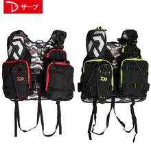 2018 New DAIWA Breathable Fishing Life Jacket High Quality Life Vest Fishing Vest Fishing Clothes Tackle 100kg Buoyancy Vest
