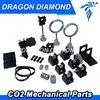 CO2 Laser Metal Parts Transmission Laser Head Mechanical Components Model B For DIY CO2 Laser Engraving
