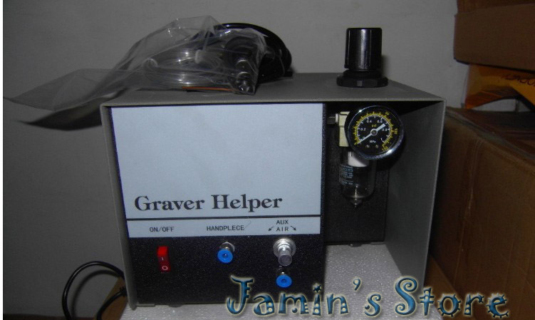 New Graver Single Ended Jewelry Engraver Engraving MachineNew Graver Single Ended Jewelry Engraver Engraving Machine
