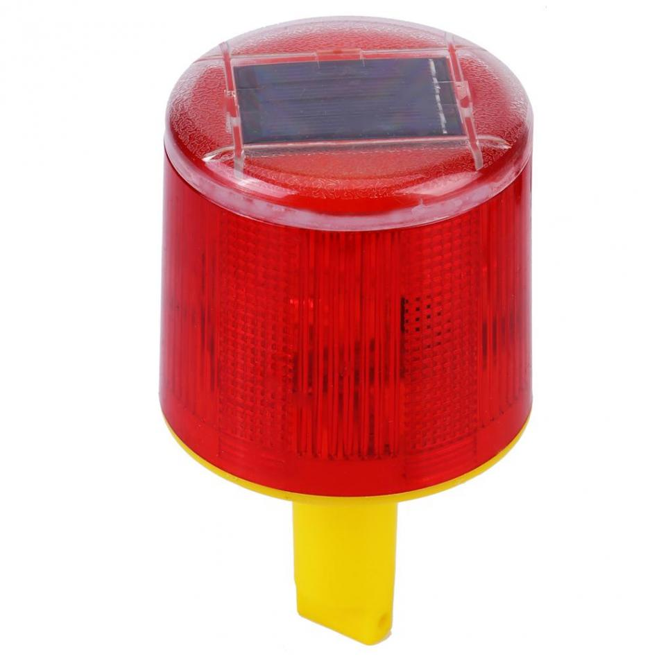 Solar Led Rotary Signal Lamp Warning Light Emergency Flash Low Cost Burglar Alarm For Boats Traffic Road Boat Red In Indicator Lights From Lighting On