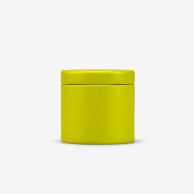 Dia47X45mm Круглый Мини прекрасный чай жестяная коробка Горячая герметичный caddy офисный металлический ящик для хранения коробка 100 шт./лот - Цвет: Зеленый
