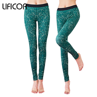Femmes De Yoga Pantalon de Fitness Sport Leggings Gym Haute Élastique de Course Vert Sport Pantalon Fonds De Yoga Leggings Stretch Pantalon