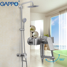 GAPPO bathtub faucet stainless steel bath shower faucet bathtub faucets do anheiro taps chrome wall bathroom faucet mixer недорого