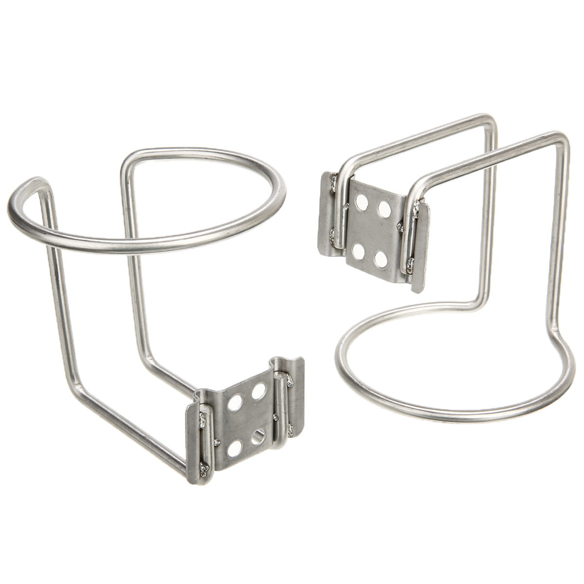 2pc Ring Cup Drink Holder Stainless Steel For Marine Boat Yacht Truck RV Drinking Cup Holder High Quality