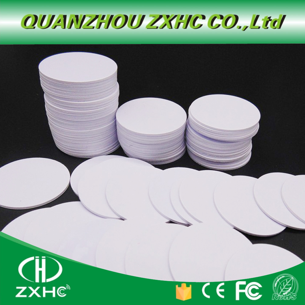 (10PCS) Waterproof RFID ISO15693 Icode Slix (Icode-2) 30MM Round Tag