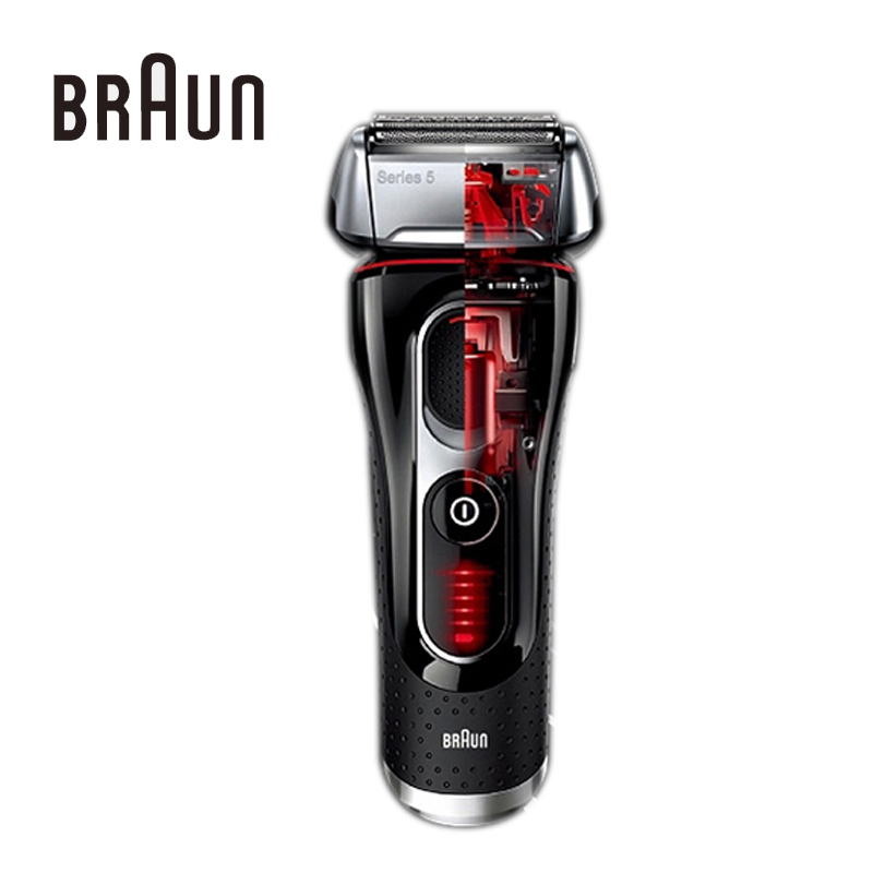 Braun Electric Shavers 5030s Rechargeable Reciprocating Blades High Quality Brands Electric Safety Razors For Men Shaving