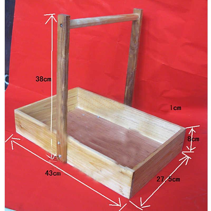A Cesta de Bens de Laboratório (De Madeira) Caixa de Cesta Do Ensino Médio Ensino Experimento Químico Reagente Instrumento