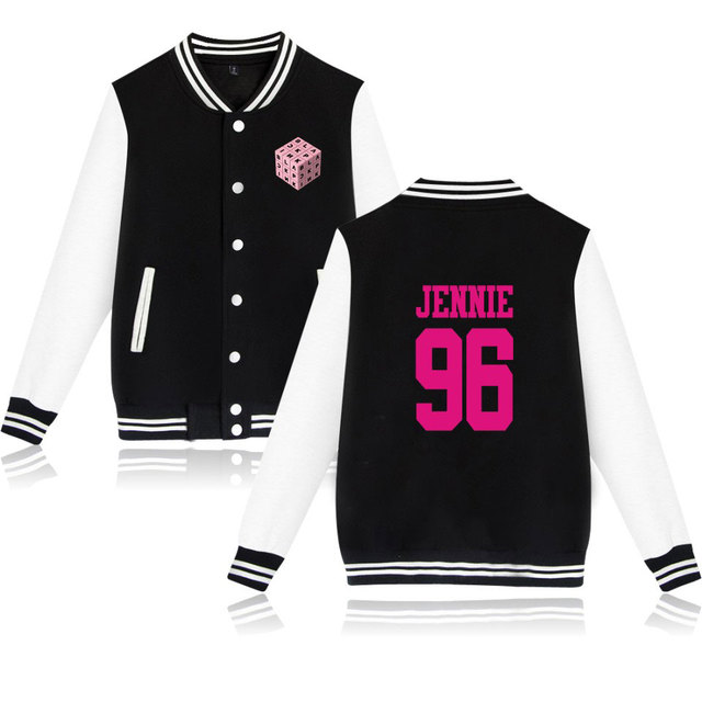 FancyLove BLACKPINK SQUARE UP Rubik's Cube Women Baseball Jackets Couples Clothes