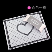 Nail Art Tool Hand Arm Rest Holder Pillow Table With Silicone Cushion Mat Pad Kit Set