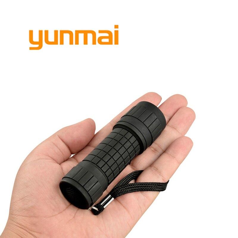 Yunmai Ultra Small Pocket Led Flashlight COB Mini Torch 1000 Lumen One Mode Waterproof Hand Camping Work Light Use Aaa Battery