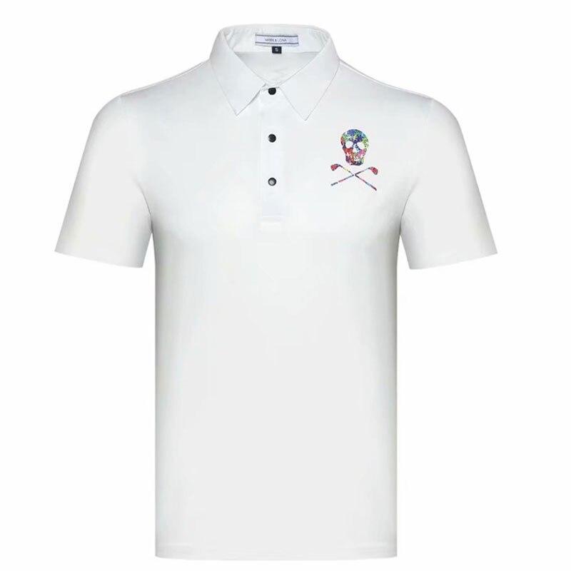 Chemise de Golf Cooyute dernière marque printemps été. T-Shirt de sport de Golf LONA manches courtes anti-boulochage T-Shirt de Golf court livraison gratuite - 2