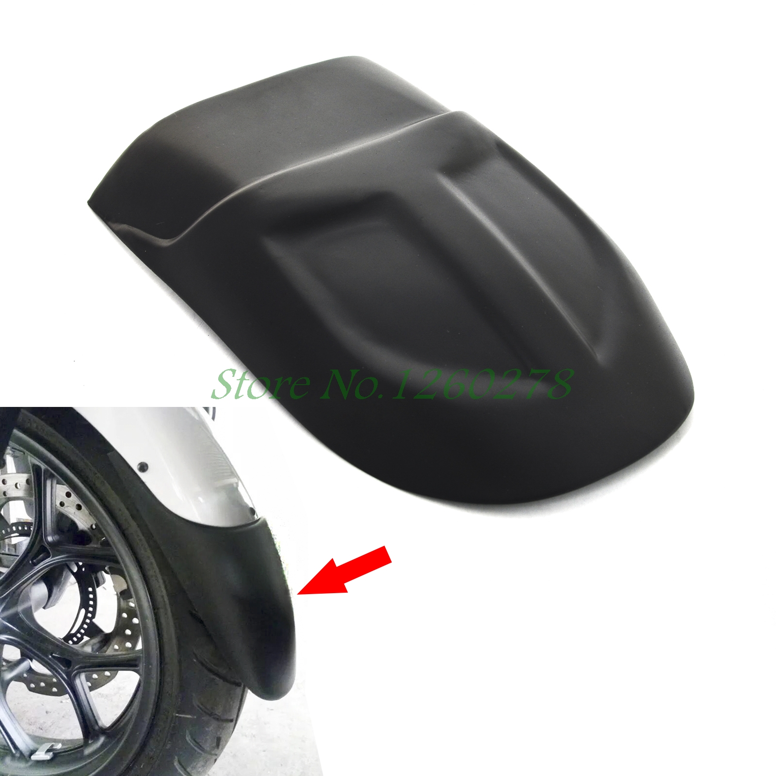 Motorcycle Front Fender Extension Extender For BMW F700GS 2012 2013 2014 2015 motorcycle qj250 j front fender outlet qj250 l changed absolutely original