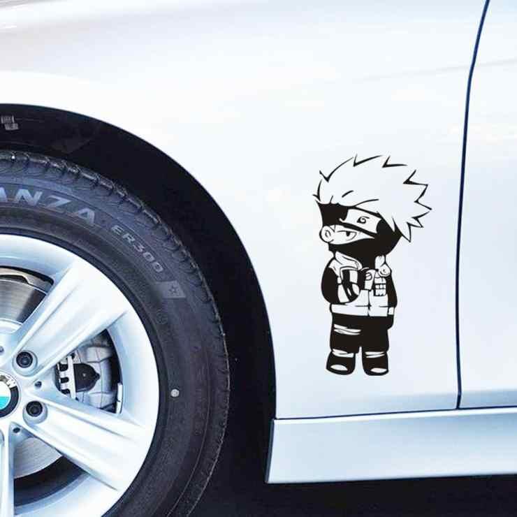 Dessin Anime Drole Naruto Kakashi Autocollant De Voiture Mignon Et Decalcomanie Pour Vw Golf 7 Polo Jetta Kia Lada Hyundai Skoda Peugeot 307 Renault Aliexpress