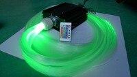 24key IR 45W LED RGB light engine with 1200pcs 0.75mm diameter 4m long PS optical fiber cable,fiber kit