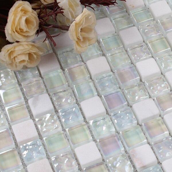 de vidrio ladrillos laminado encimeras de cocina de materiales