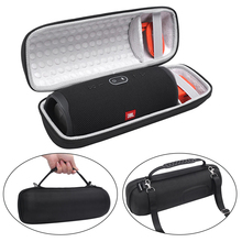 Capa portátil para jbl charge 4, caixa de som com alça de ombro, proteção para alto falante jbl charge4