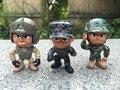 3 PCS O LIL' TROPAS DO EXÉRCITO DOS EUA MILITAR FIGURAS de AÇÃO NOVO SEM ACESSÓRIOS de Resgate Da Infantaria Piloto Trooper Urbana