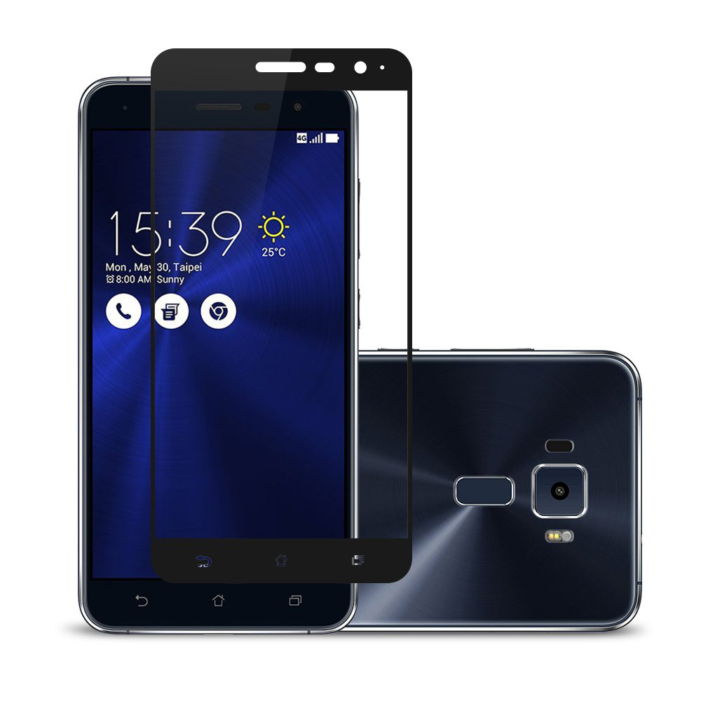 FUll Cover Tempered <font><b>Glass</b></font> For <font><b>Asus</b></font> Zenfone 3 Max ZC520TL ZE520KL laser ZE553KL <font><b>ZC553KL</b></font> ZE552KL Live ZB501KL Screen Protector image