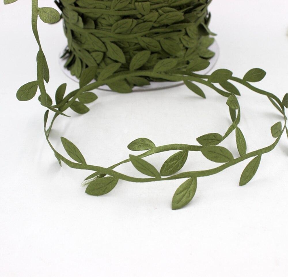 Cheap 5 meters silk artificial leaf leaves flower for for Artificial leaves for decoration