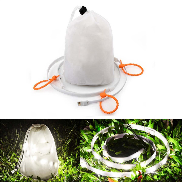 LED Rope Lights for Tent C&ing Hiking Safety Emergencies USB Powered Portable LED String Light That  sc 1 st  AliExpress.com & LED Rope Lights for Tent Camping Hiking Safety Emergencies USB ...