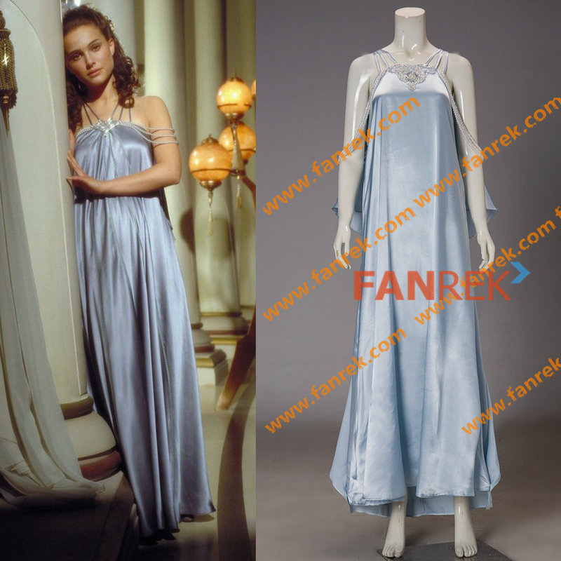 Star Wars Costumes Women : Cosplay Revenge of the Sith Padme's Nightgown Dress Party Halloween Costumes