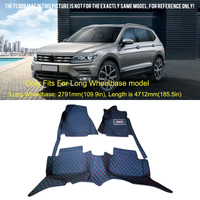 2017 2018 For VW Volkswagen Interior Accessories Car Boot Pad Carpet Cargo Mat Trunk Liner Tray