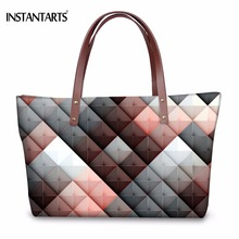 INSTANTARTS Women Large Capacity Handbags for Ladies Shoppin
