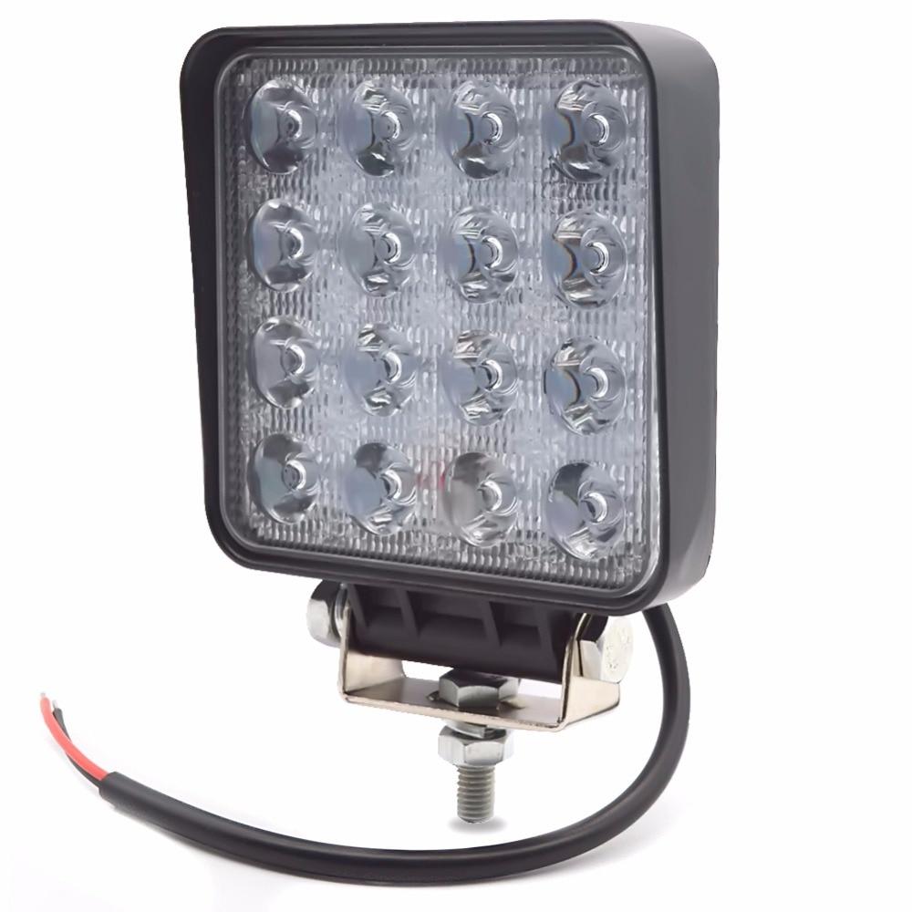 Safego 4pcs 4INCH 48W LED WORK light light Offroad 4x4 ATV - Ավտոմեքենայի լույսեր - Լուսանկար 4