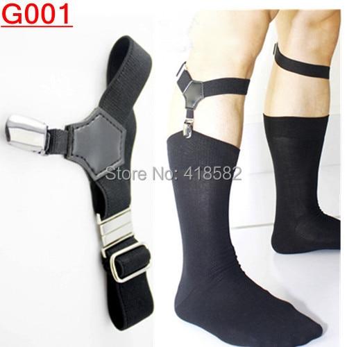 G001--2015  Hot Fashion Sexy Mens Garter High Quality Clip Socks Garters For Women  Min.1 Pair Freeshipping