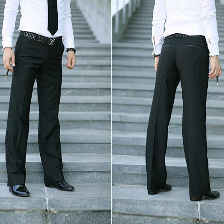 2015 New British Style Mens Casual Suit Pants Man Slim Fit