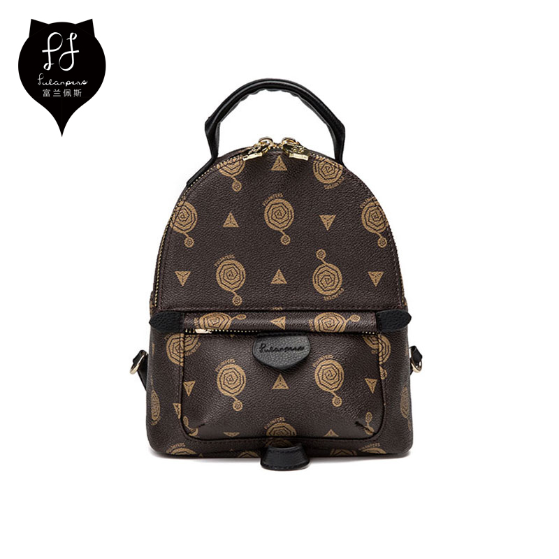 7890bbba3a FULANPERS Small Bag Backpack Female 2018 Fashion Backpacks Black Backpack  For Teenage Girls Ladies Back Pack