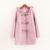 TIC-TEC mulheres com botão da buzina com capuz de algodão outono inverno moda casacos casacos Parkas plus size P2820