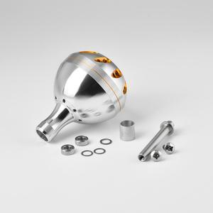 Image 5 - Gomexus電源ノブシマノステラswリールハンドルグリップb 45 ミリメートル金属ラウンドクランクノブ