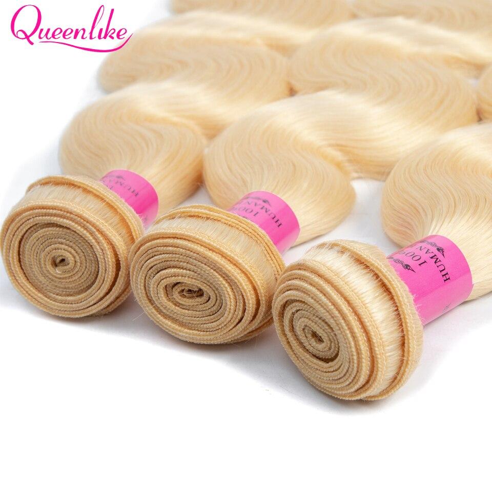 blonde bundles with closure 9