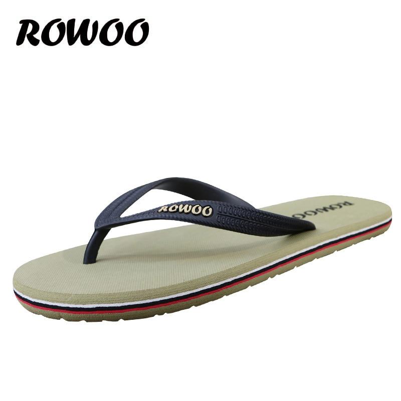 Gorąca sprzedaż letnie gumowe buty Moda klapki męskie sandały - Buty męskie - Zdjęcie 4