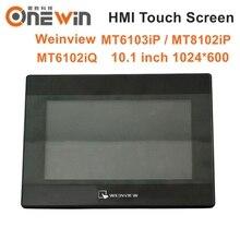 WEINVIEW MT6103iP MT8102iP MT6102iQ ekran dotykowy HMI 10.1 cala 1024*600 USB Ethernet nowy interfejs człowiek maszyna wyświetlacz