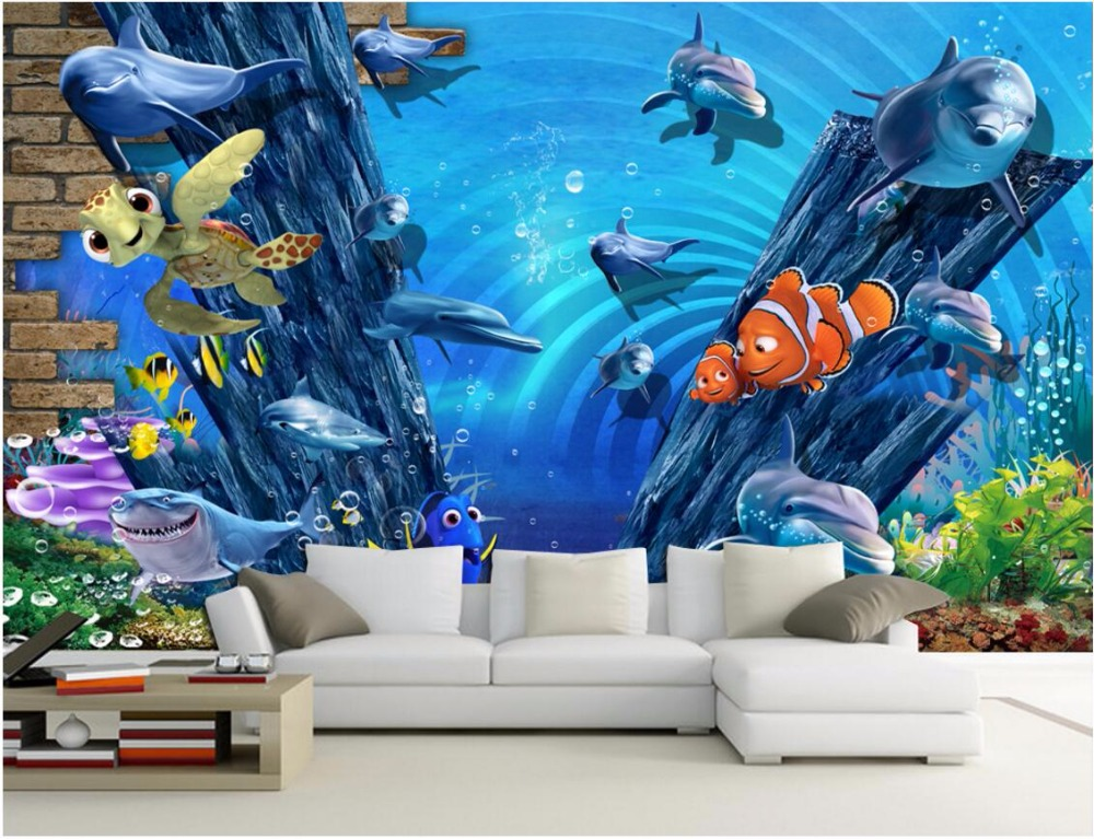 Compare prices on painting brick wall online shopping buy for Custom mural cost